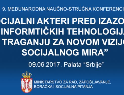 Poziv na 9. međunarodnu naučnu konferenciju