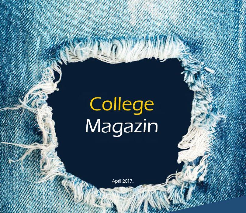College magazin – April 2017.
