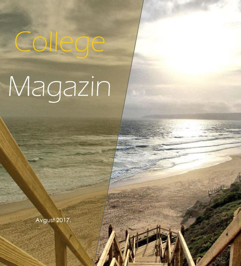 College magazin – Avgust 2017.