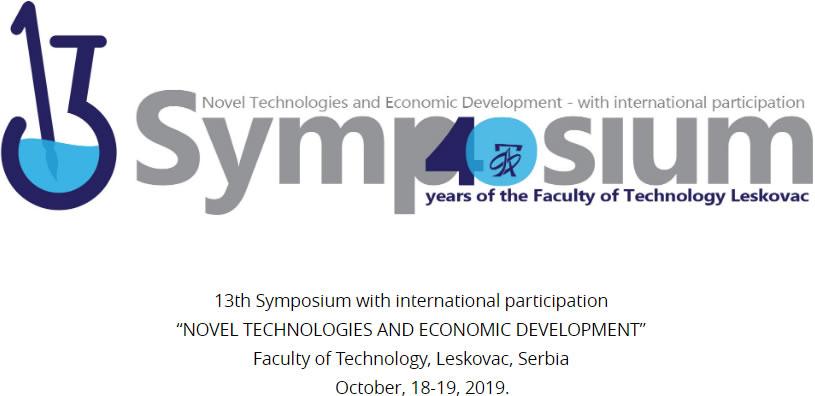 """Poziv na na 13. Simpozijum """"Nove tehnologije i ekonomski razvoj"""""""