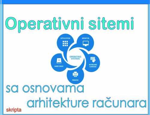 Operativni sistemi sa osnovama arhitekture računara, Boris Damjanović