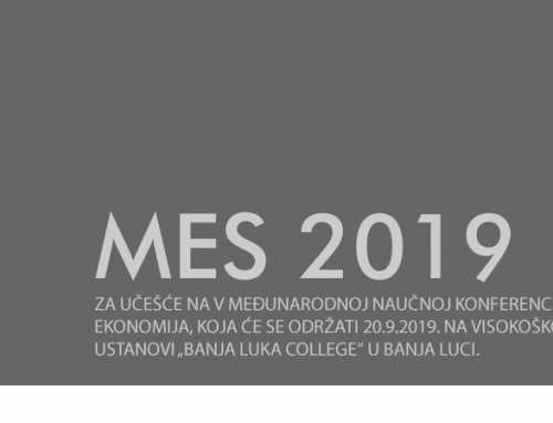 Poziv za učešće na V međunarodnoj naučnoj konferenciji Mediji i ekonomija, koja će se održati 20.9.2019.